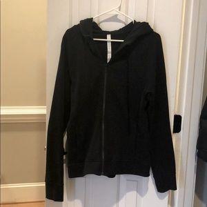 "Lululemon ""Warm for Winter"" Black Zip-up Jacket"